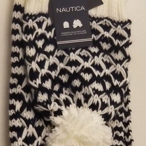 🏂Nautica scarf and hat